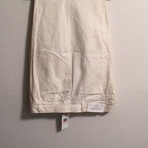 Calvin Klein white Jeans NWT size 40-33